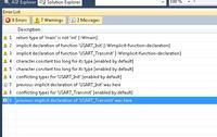 Atmega328P - USART czemu to się nie kompiluje ?