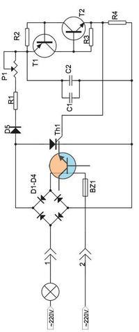 Ściemniacz do świateł - moc rezystorów na schemacie oraz jego poprawość