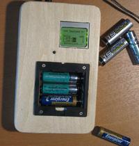 Miernik pojemno�ci akumulator�w AA
