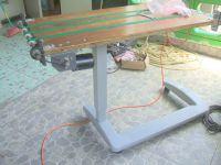 Stolik - przystawka do drukowania kopert do maszyny offsetowej Ryobi.