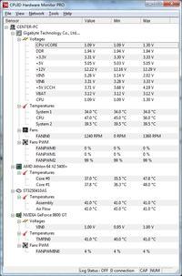 NoName - Wyłączający się PC, tester zasilaczy, analiza pomiarów
