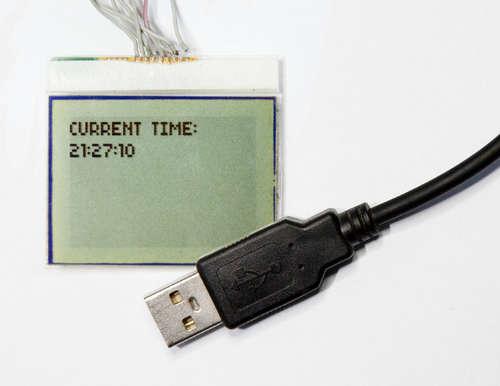 Pod��czenie wy�wietlacza z nokii 3310 do komputera.