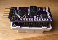Interfejs MavroOBD wykonany na Arduino kompatybilny z interfejsem OBD