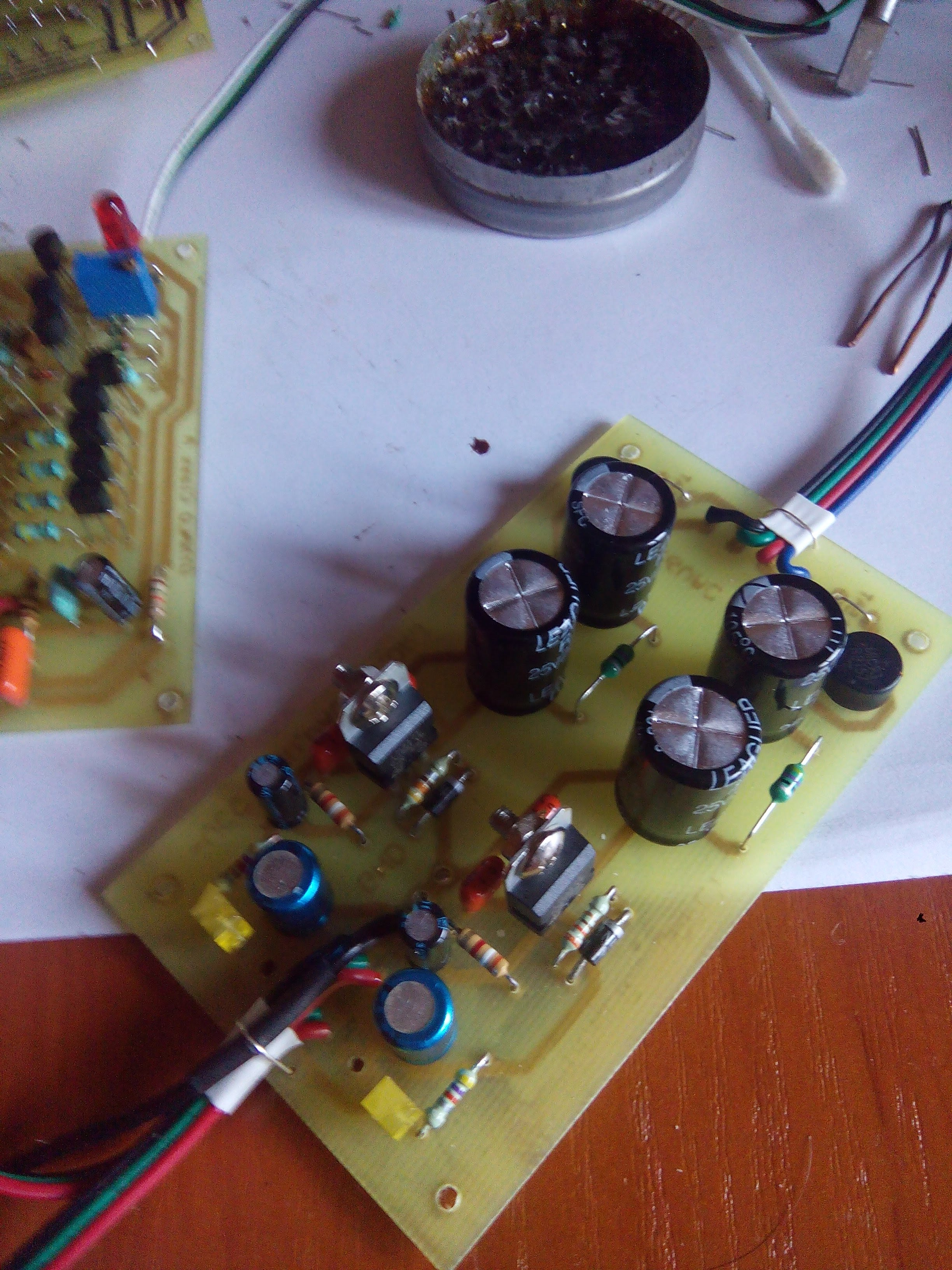 how to build a preamp