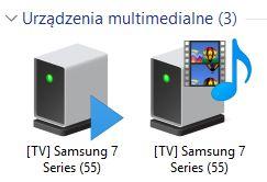 Samsung UE55NU7305KXXC - Nie można połączyć TV z laptopem