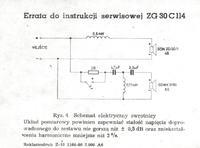 Unitra Zg30C 114 Kilka pytań. Proszę o pomoc