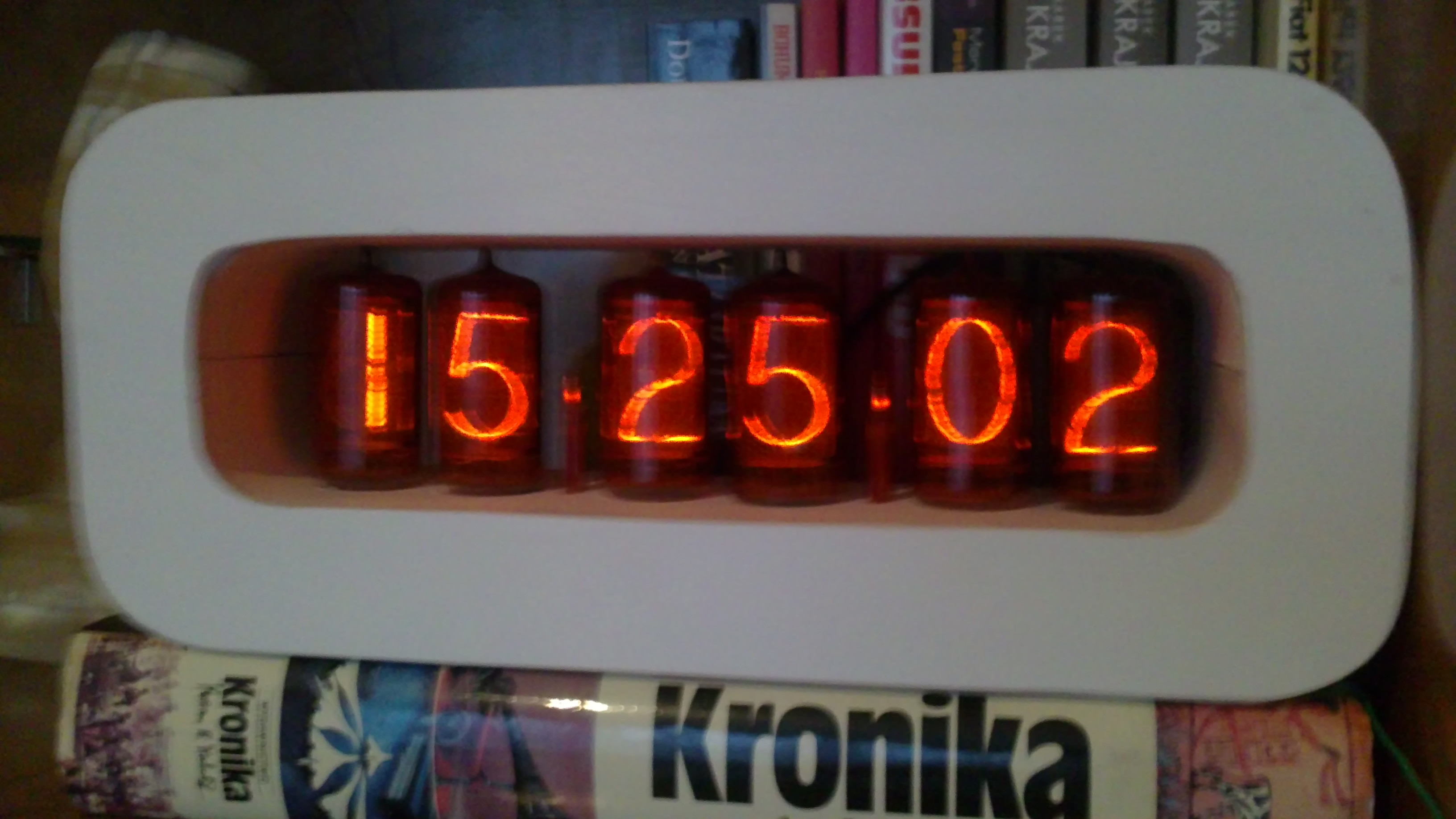 Zegar na ATMega16, wsp�praca z DCF.