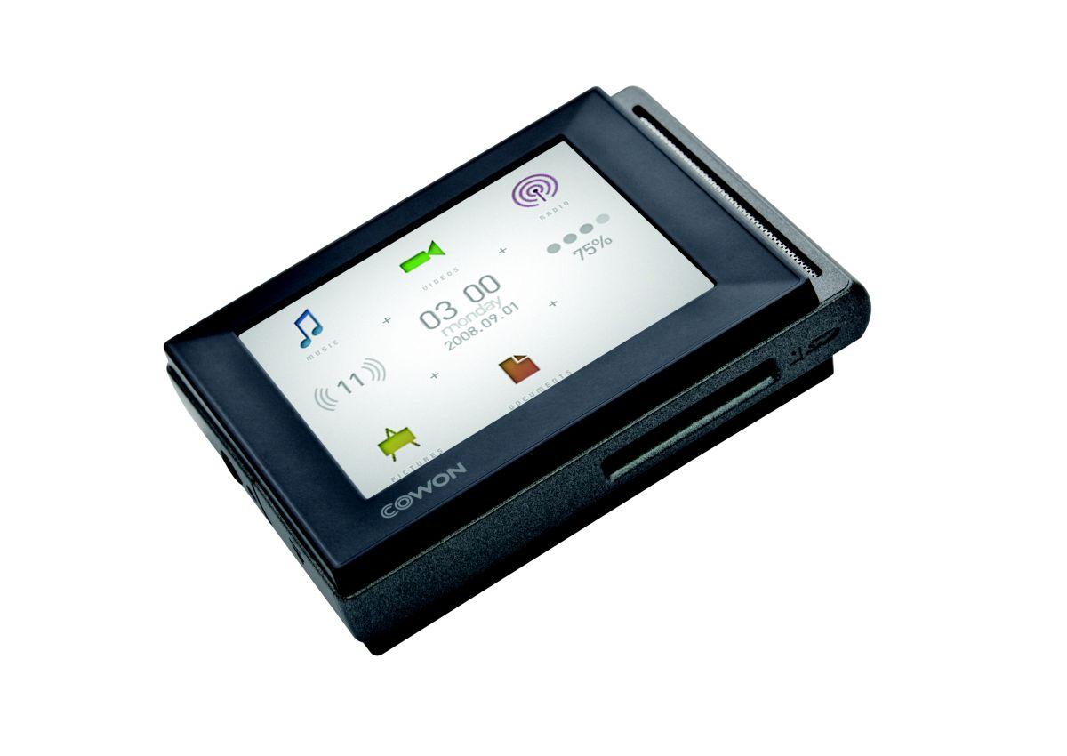 Cowon D20 - przeno�ny odtwarzacz MP3 z akumulatorem na 90 godzin pracy