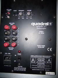 Wtyczki do głośników Quadral