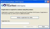 Visual studio 2010 - Problem z uruchomieniem