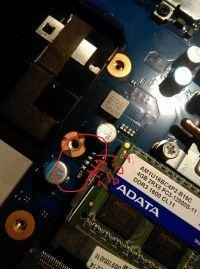 Laptop Samsung NP300E5C - Reset Biosu