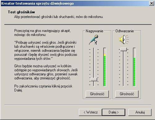 ASRock K7S41GX - nie ma mikrofonu, lecz jest wykrywany