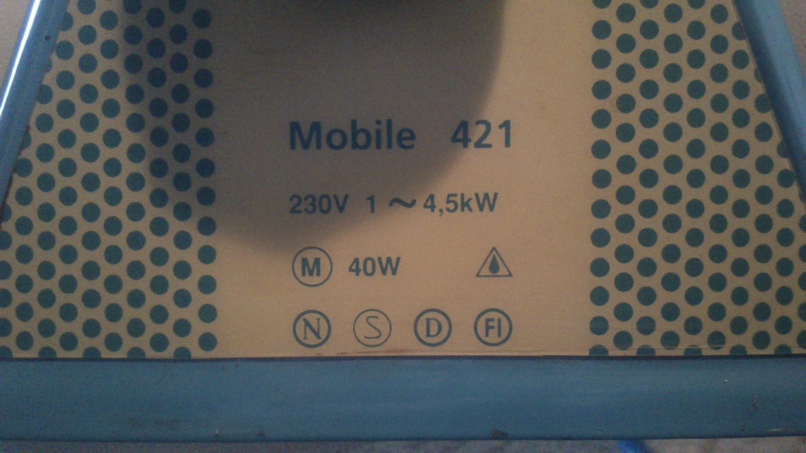 [Sprzedam] Nagrzewnica - termowentylator Pyrox Mobile 421 ok. 4.5kW