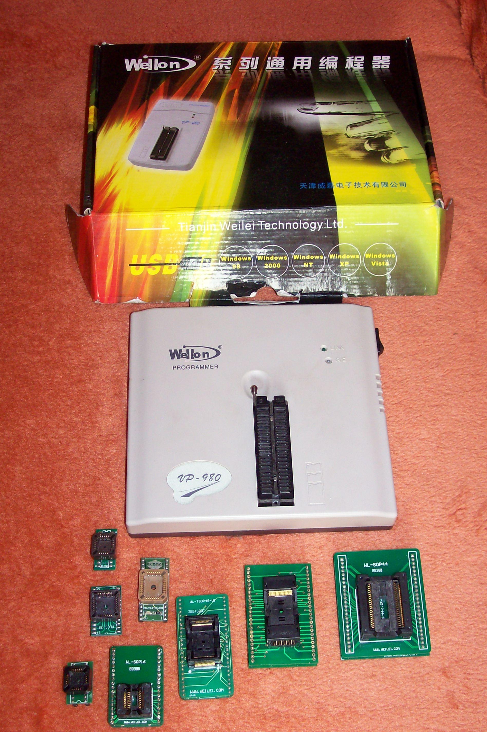 [Sprzedam] Wellon VP980 wraz z adaptorami