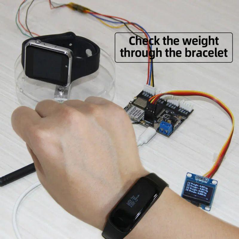 Zbuduj wagę LoRaWAN z płytką TTGO T-Weigh