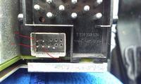 AUX w radiu BLAUPUNKT BMW RDS CD BUSINESS z 2000 roku - podpi�cie pod zmieniark�