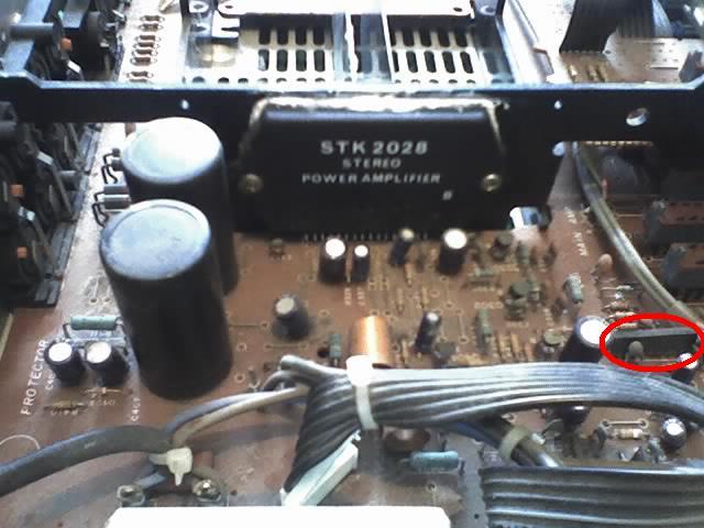 Wzmacniacz Technics SU-Z11 - po czasie charczy - elektroda pl