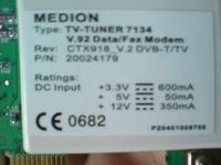 Karta TV Medion SAA7134 wielki kłopot.