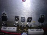 Unitra WS-418 po wymianie tranzystorów grzeje sie trafo