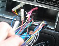 Czy może sie spalić panel od radia??