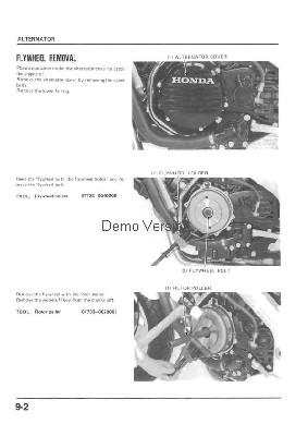 Wirnik alternatora w motorze, sprawdzenie
