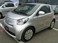 Kompaktowa Toyota iQ w wersji elektrycznej