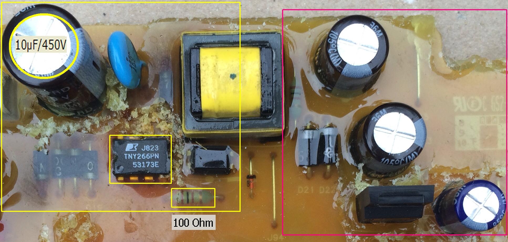 Samsung WF7602S8V - Pralka nie w��cza si�, spalony warystor ale jaki?