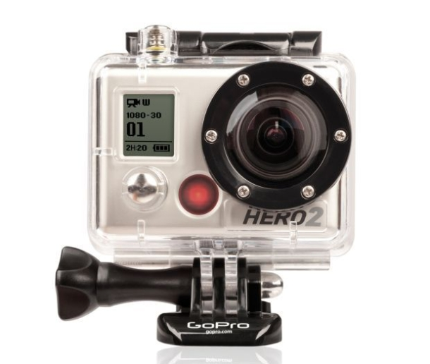 GoPro HD HERO2 - kamera he�mowa Full-HD z funkcjami Burst i Time-Lapse