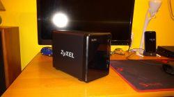 Zyxel NAS326 - nie zachowuje stawień