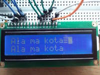 ATmega328p - LCD nie wy�wietla ca�ych string�w