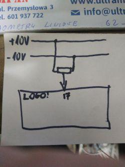 LOGO! Potencjometr pod analog