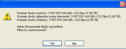 Naprawa logiki dysku Seagate 2TB