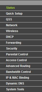 Przekierowanie wszystkich na serwer www TP-LINK Wireless N Router WR941N
