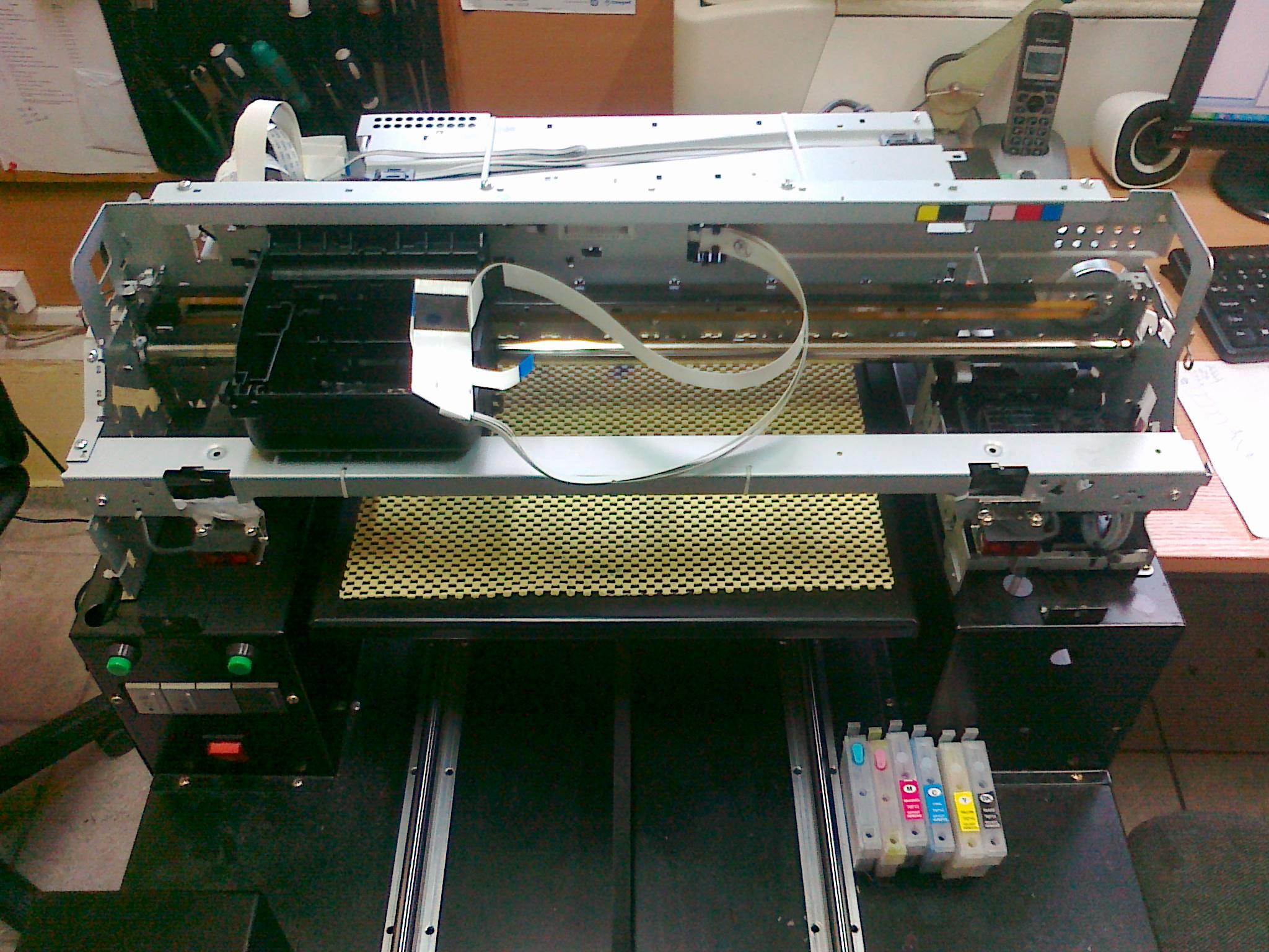 Budowa drukarek DTG na bazie Epson