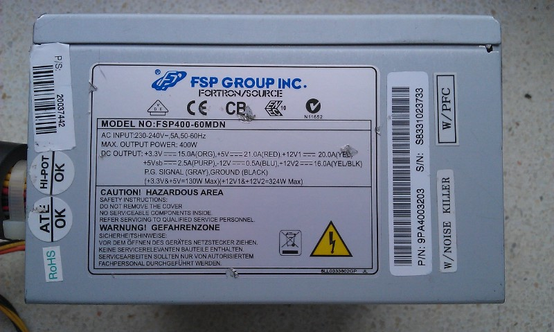 Gigabyte MA770T-UD3, Phenom II x4 965 - komputer piszczy przy nowszych grach