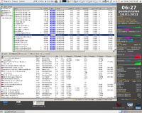 Utorrent poszukuje aktywnych tracker�w.