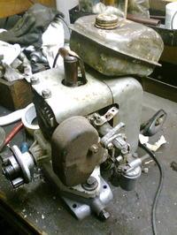 Silnik starej kosiarki b�bnowej - jaki to model?