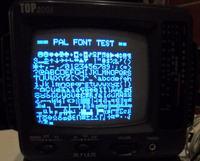 P�ytka developerska PIC wy�wietlaj�ca obraz na TV (generacja sygna�u PAL)