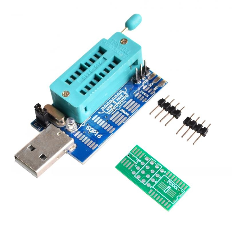 Mini Programator CH341A instrukcja - elektroda pl