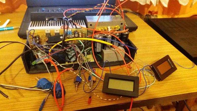 Zasilacz warsztatowy 0-30V, 0-5A, nie electronics lab