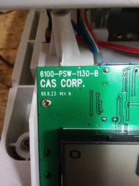 CAS SW-1 - Po kalibracji wskazuje 1kg zamiast 5kg