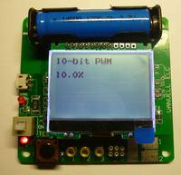 Mikroprocesorowy tester elementów M328 Vanvell ELC