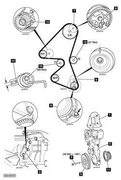Focus III 115KM - Potrzebny schemat rozrządu prośba