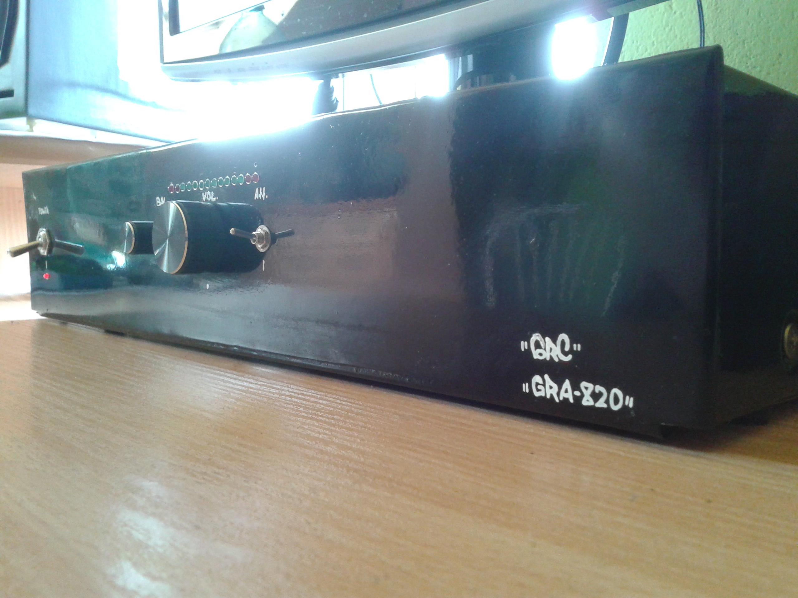 Wzmacniacz GRA-820 (2x70W/4R max.)