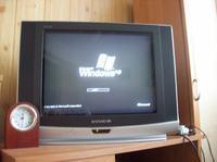 Podłączenie PC do TV które nie ma wejścia PC - Dziwna Sprawa ....