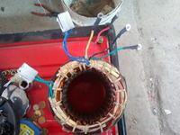 Agregat pr�dotw�rczy Honda :) - Uszkodzony stojan pr�dnicy 3 fazowej