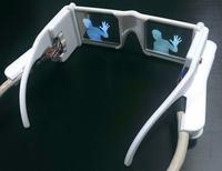 Elektroniczne okulary o wysokim kontra�cie pomog� niedowidz�cym