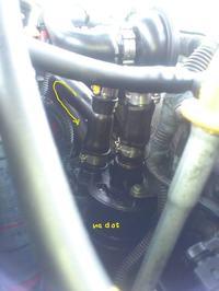 Alfa/156 /2.4 JTD - Alfa 156 2.4 JTD - Oli Catch Tank - instalacja