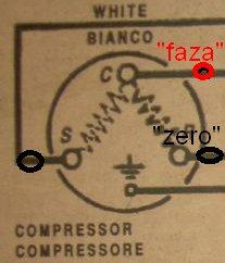 W�oska szafa ch�odnicza, nie startuje kompresor