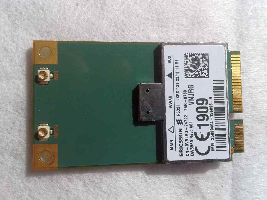 [Sprzedam] Nowy modem WWAN DW5560 DELL 5560 F5321 AERO2 GPS